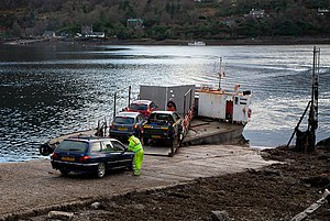 Ferry at North Strome - geograph.org.uk - 2808328.jpg