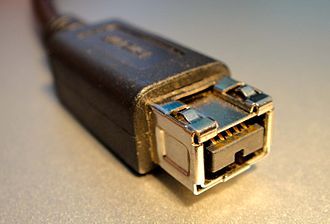 IEEE 1394 - A 9-pin FireWire 800 connector