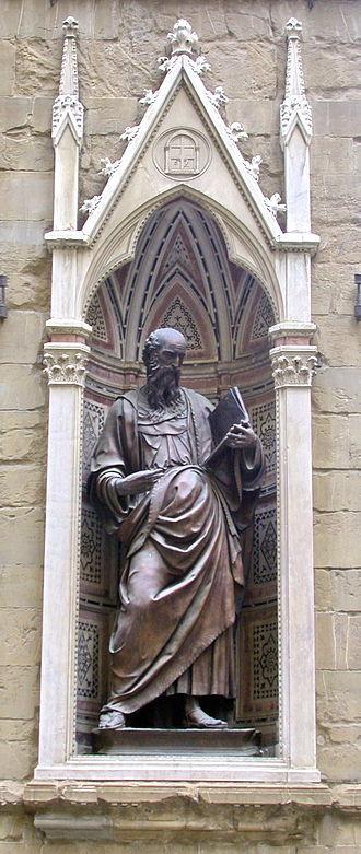 Baccio da Montelupo - St. John the Evangelist, Orsanmichele, Florence
