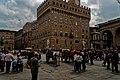 Firenze - Florence - Piazza della Signoria - View ESE on Palazzo Vecchio II.jpg