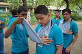 First Aid and Emergency Management Session - Summer Camp - Nisana Foundation - Sibpur BE College Model High School - Howrah 2013-06-08 9159.JPG