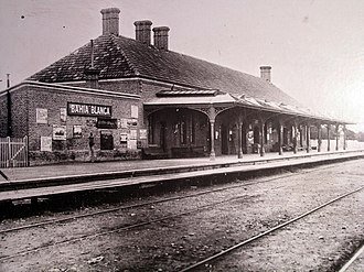 Bahía Blanca Sud railway station - Image: First Bahia.blanca station fcsud 1906