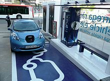 Electric Vehicle Network Wikipedia - Us map of ev charging stations