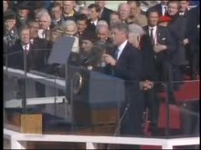 پرونده:First Inaugural (January 20, 1993) Bill Clinton.ogv