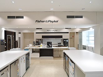 Fisher & Paykel - Image: Fisher & Paykell David Jones Market Street 2013