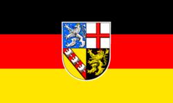 Saarland Flag