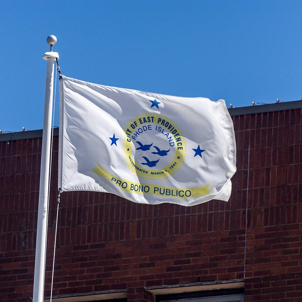 Flag of East Providence, Rhode Island