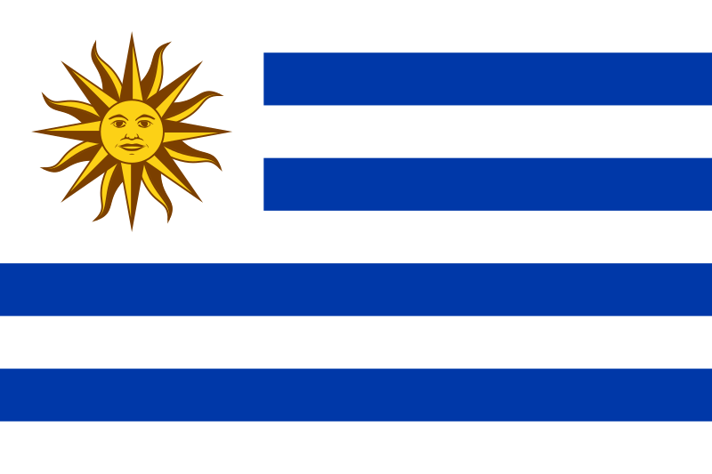Archivo:Flag of Uruguay.svg