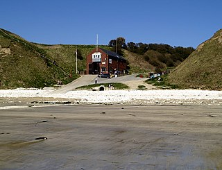 Flamborough Lifeboat Station Lifeboat station in the East Riding of Yorkshire, England