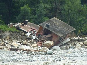 2012 Himalayan flash floods - Effects in Uttarakhand