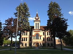 Flathead County Courthouse i Kalispell.