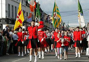 Fleadh Cheoil - The opening parade of the 2008 Fleadh Cheoil na hÉireann in Tullamore, County Offaly