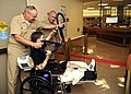 Flickr - Official U.S. Navy Imagery - Marine cuts the ribbon to the new surgical ward for wounded, ill and injured service members.jpg