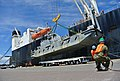 Flickr - Official U.S. Navy Imagery - Sailors offload equipment from ship..jpg