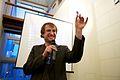 Flickr - Sebastiaan ter Burg - Wikipedia 10 jaar, overhandiging collectie AHM aan Wikimedia Nederland (2).jpg
