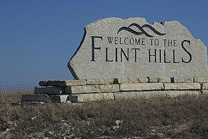 Flint Hills - Image: Flint hills kansas