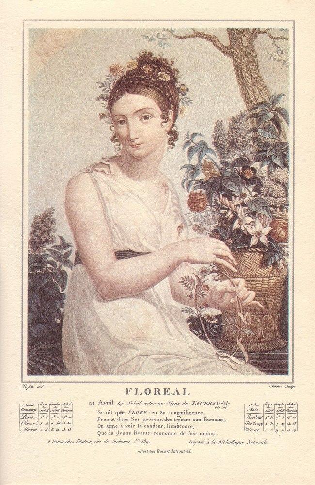 Floréal commence le 21 avril