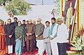 Floral tributes are paid to Bharat Ratna Baba Saheb Dr. Bhim Rao Ambedkar on his 47th Mahaparinirvan Diwas by the Vice President Shri Bhairon Singh Shekhawat.jpg