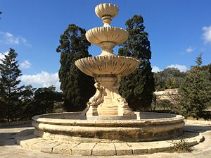 Bontadino de Bontadini - The Wignacourt Fountain, which was probably designed by Bontadini