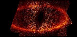 Fomalhaut - The debris disk around the star