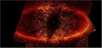 Fomalhaut - The debris disk around the star