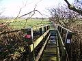 Footbridge near Cockersands Abbey - geograph.org.uk - 96499.jpg