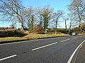 Footpath Crossing at Constitution Hill, near Dulcote - geograph.org.uk - 645452.jpg