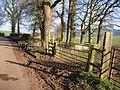 Footpath East from Utkinton Lane - geograph.org.uk - 332011.jpg