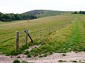 Footpath to Mount Caburn - geograph.org.uk - 594749.jpg