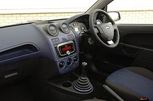 Pacific Pearl Interior Combination Featured On The Fiesta Zetec Blue