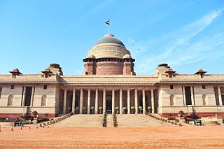 Rashtrapati Bhavan Official home of the President of India