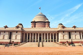 History of Delhi - The Rashtrapati Bhavan (President's Palace) is the official residence of the President of India. Before independence, it used to be a residence for the British Viceroy.