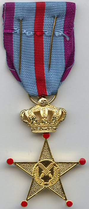 Cross of Honour for Military Service Abroad - Image: Foreign Service Honor Cross 3rd class revers