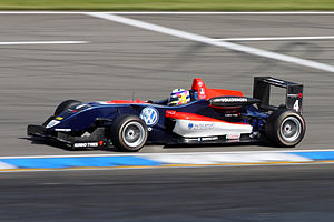 Jean-Karl Vernay - Vernay during the opening round of the 2009 Formula Three Euroseries season at Hockenheim.