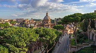 Foro Romano visto dal Vittoriano Roma.jpg