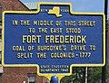 Fort Frederick Historic Marker.jpg