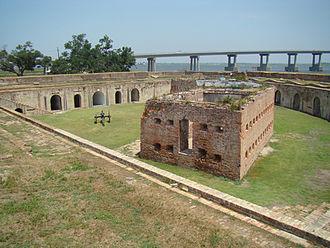 Rigolets - Fort Pike Citadel.
