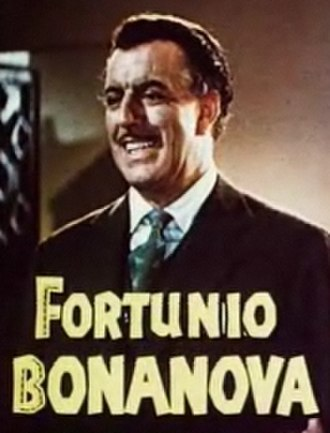 Fortunio Bonanova - From the film Fiesta (1947)