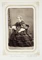Fotografiporträtt på prästfru Charlotte Rohtlieb, f. Döhn - Hallwylska museet - 107836.tif