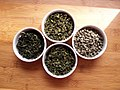 Four GreenTeas in White Bowls -1 (6196131680).jpg
