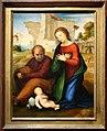 Fra bartolomeo, adorazone del bambino, ante 1511, 01.jpg