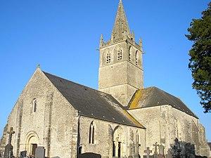 L'église Saint-Côme-et-Saint-Damien.