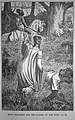 Francis Arthur Fraser - 'King Pellinore and the Damsel at the Well'. Book illustration.JPG