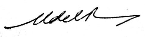 Francisco Fernández del Riego signature