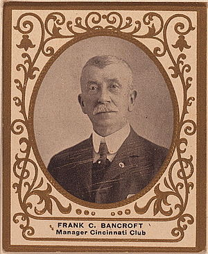 Worcester Worcesters all-time roster - Frank Bancroft managed the Worcester team in 1879 and 1880.