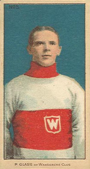 Frank Glass - Image: Frank Pud Glass, Montreal Wanderers