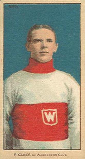 Frank Glass - Image: Frank Pud Glass, Montreal Wanderers