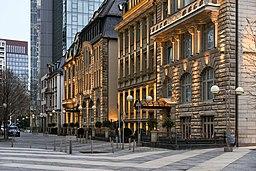 Neckarstraße in Frankfurt am Main