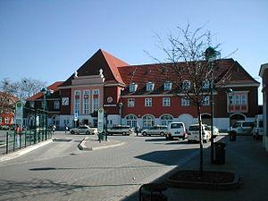 Eberswalde–Frankfurt (Oder) railway - Station building in Frankfurt (Oder)