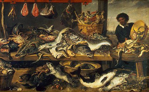 Frans Snyders - Fish Market - WGA21513
